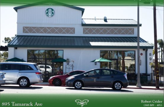 Irreplaceable Coastal Single Tenant Starbucks